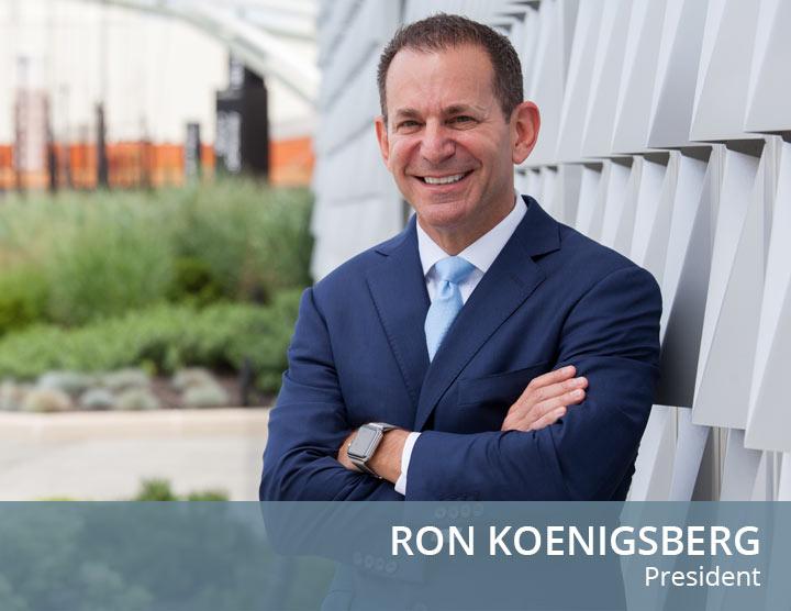 Ron Koenigsberg - President - Commercial Broker