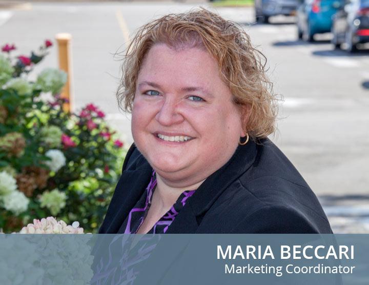 Maria Beccari- Marketing Coordinator