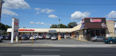 East Meadow New York Shopping Plaza