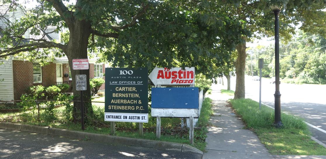 Austin Plaza Signage