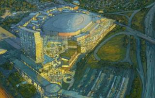 Belmont Park Redevelopment Project Render
