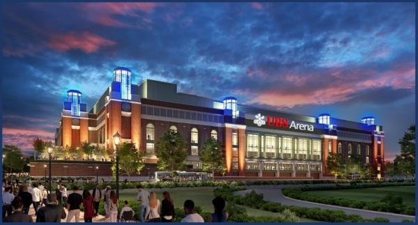 Long Island's Belmont Park UBS Arena Rendering