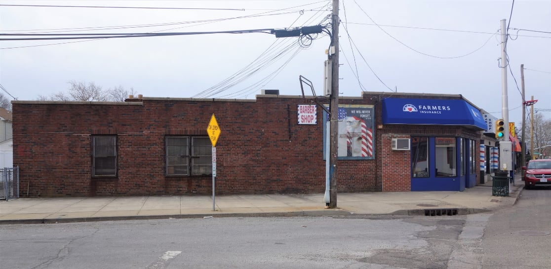 Side Shot of Commercial Property For Sale in Franklin Square, NY