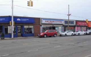 Another Diagonal Shot of Commercial Building For Sale in Franklin Square, NY