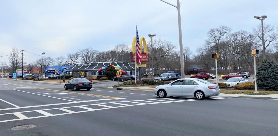 McDonalds Signage of East Patchogue Property