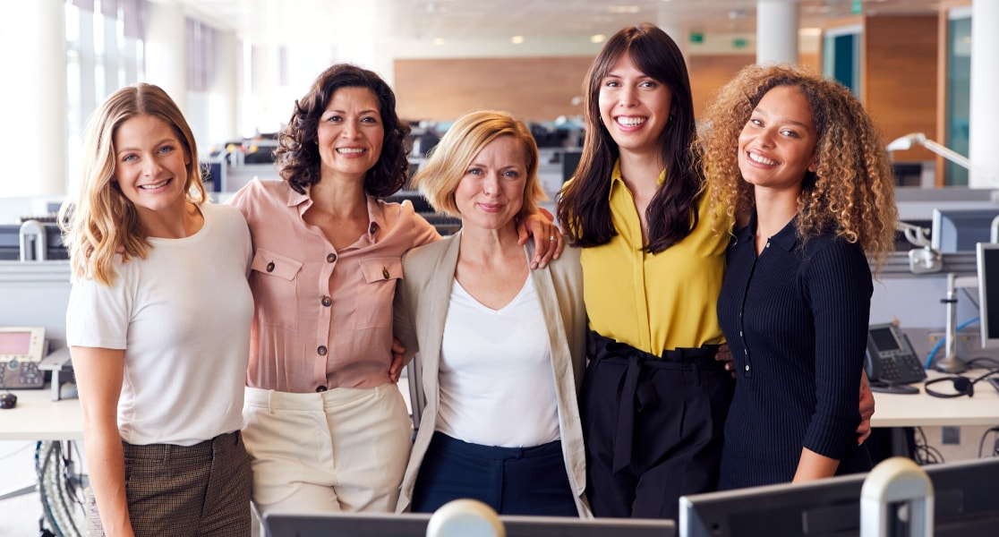Image of 4 Businesswomen in Commercial Real Estate