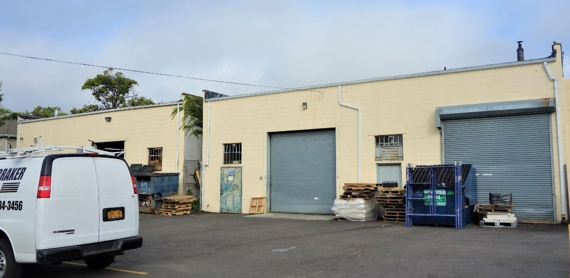 Warehouse Buildings Attached to Property