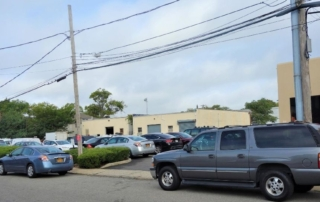 Parking Lot at New Hyde park Office Building