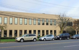 Front of New Hyde Park Office Building